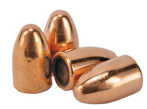 Handgun Bullets .355 Diameter 115 Grain Full Metal Jacket Flat Base 400 Bullets