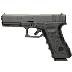 "GLOCK 17 Gen 3 9mm Semi-Auto Pistol, 4.48"" Barrel, 17 Rounds, Black"