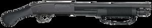 """Mossberg 50659 590 Shockwave Blued 12 Gauge 14"""" 3"""" 5+1 Fixed Raptor Grip Stock"""