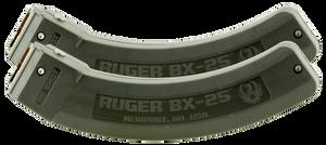 Ruger -90548 BX-25 Magazine  22 LR Ruger 10/22 Series 25 Black