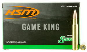 HSM -3040KRAG11N Game King  30-40 Krag 150 GR Spitzer Boat Tail (SBT) 20 Bx/ 20 Cs
