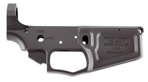 Wilson Combat-TRLOWERBIL AR Style Billet Lower AR-15 Rifle 223 Remington/5.56 NATO Black Armor-Tuff