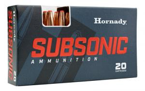 Hornady 91369 Subsonic 40 S&W 180 gr XTP Hollow Point 20 Bx/ 10 Cs