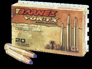 Barnes Bullets -21548 VOR-TX Rifle  300 AAC Blackout 110 GR TAC-TX Flat Base 20 Bx/ 10 Cs
