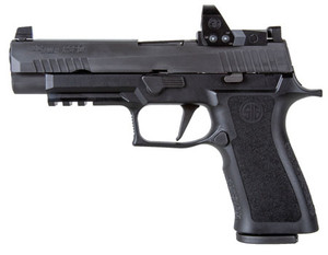 """Sig Sauer 320XF9BXR3RXP10 P320 X Full Size 9mm Luger 4.70"""" 10+1 Black Black Nitron Stainless Steel Black Polymer Grip"""