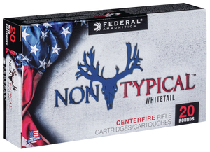 Federal 308DT150 Non-Typical  308 Winchester 150 GR Non-Typical Soft Point (SP) 20 Bx