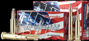 Hornady 80904 American Whitetail  308 Winchester/7.62 NATO 165 GR InterLock SP 20 Bx
