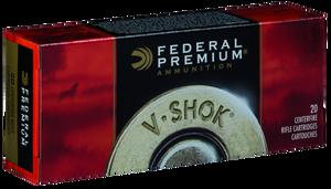 Federal P223R Premium V- Shok 223 Rem/5.56NATO 43 GR TNT Green (TNTGRN) 20 Bx