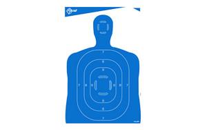 ALLEN EZ AIM 23X35 SILHOUETTE 4PK