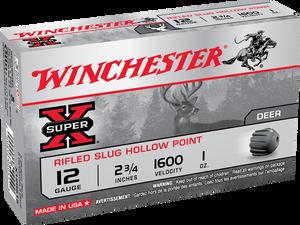 Winchester Ammo -X12RS15 Super-X Rifled Slug Hollow Point 12 Gauge 2.75 1 oz 5 Bx/ 50 Cs