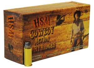 HSM -44401N Cowboy Action  44-40 Winchester 200 GR Round Nose Flat Point (RNFP) 50 Bx/ 10 Cs