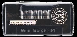 Ammo Inc -9085HPF OPS  9mm Luger 85 GR Hollow Point (HP) 20 Bx/ 10 Cs