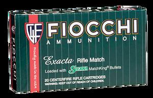 Fiocchi 223MKC Exacta Match 223 Rem/5.56NATO 69 GR Boat Tail Hollow Point (BTHP) 20 Bx