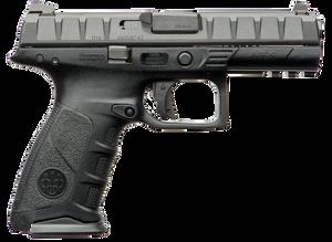 Beretta -USA JAXF915 APX Full Size 9mm Luger Double 4.25 15+1 Black Interchangeable Backstrap Grip Black Slide
