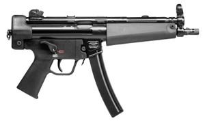 "HK 81000477 SP5 9mm Luger 8.86"" 30+1 Black Black Polymer Grip Two Mags"