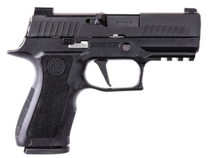 "Sig Sauer 320XC9BXR3R2 P320 XCompact 9mm Luger 3.60"" 15+1 Black Nitron Stainless Steel Black Modular Polymer Grip"