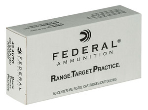 Federal RTP45230 -Range and Target  45 ACP 230 GR Full Metal Jacket FMJ 50 Rounds