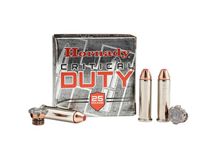 Hornady -90511 Critical Duty FlexLock 357 Magnum 135 GR FlexLock 25 Bx/ 10 Cs