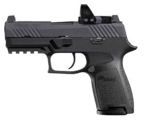 "Sig Sauer 320C9BRXP P320 Compact 9mm Luger 3.90"" 15+1 Black Black Nitron Stainless Steel Black Polymer Grip"