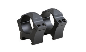 ALPHA HUNT RINGS MED 2PK 1PRECISION MILLED STEEL MED BLKSteel Weaver-StyleSet of 2Medium Ring