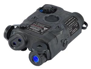 ATPIAL AN/PEQ-15 LASER BLACKADVANCED TARGET POINTER3-Volt DL123 BatteryIR Laser and IlluminatorVisible Laser