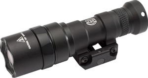 M300 MINI SCOUT LGHT BK 500LM#M75 THUMB SCREW MT|500 LUMENSZ68 Click On/Off TailcapAttaches to Std. Pic Rails500 Lumen Output