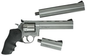 DW 715 PISTOL PACK 357MAG SSTHREE BARRELS INCLUDEDHV6 - Heavy Vent ShroudCustom Dan Wesson Hard Case 622