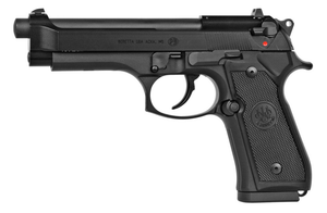 M9-22 22LR BLK 4.9 10+1Open slide designReversible magazine releaseExternal hammer 5106