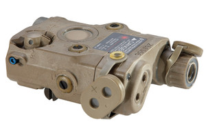 ATPIAL AN/PEQ-15 LASER TANADVANCED TARGET POINTER3-Volt DL123 BatteryIR Laser and IlluminatorVisible Laser