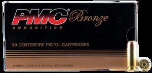 PMC 40E -Bronze  40 S&W 180 GR Full Metal Jacket Flat Point (FMJFP) 50 Bx/ 20 Cs
