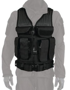 BLACKHAWK! Omega Elite Tactical Vest Number 1 - Black 30EV03BK