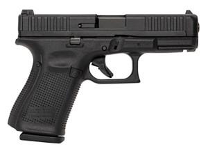 "Glock UA4450101 -G44 Compact 22 LR 4.02"" 10+1 Black Steel Slide Black Rough Texture Interchangeable Backstraps Grip Adj Sights"