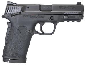 Smith & Wesson- 11663 M&P 380 Shield EZ 380 ACP 3.68 8+1 Black Armornite Stainless Steel Black Polymer Grip