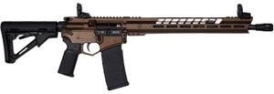 "Diamondback DB15BGSMB DB15 223 Rem,5.56 NATO 16"" 30+1 Midnight Bronze Adjustable Magpul CTR Stock"