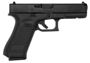 "Glock PA175S203 G17 Gen5 DAO 9mm Luger 4.49"" FS 17+1 Black nDLC Black Polymer Grip"