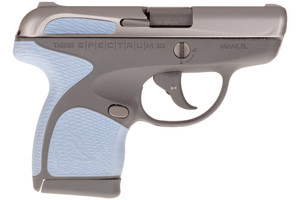 SPECTRUM 380ACP SS/GRAY/SER1007039209 | SERENITY ACCENTSBlack Slide & Frame Accents