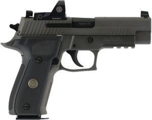 "Sig Sauer E26R9LEGIONRXP P226 Full Size Legion RX 9mm Luger 4.40"" 15+1 Legion Gray Cerakote Elite Black G10 Grip"
