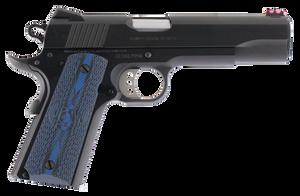 Colt Mfg -O1970CCS 1911 Competition 70 Series 45 ACP 5 8+1 Blued Carbon Steel Blue G10 w/Logo Grip