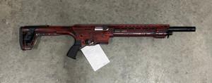 "PW ARMS INC AR12PSREDCRA AR-12 Distressed Red Cerakote 12 Gauge 20"" 3"" 5+1 Fixed w/Adjustable Cheekpiece Stock"