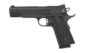 "Rock Island 51632 Rock Standard FS 9mm Luger 5"" 10+1 Black Parkerized Black G10 Grip Fixed Sights"