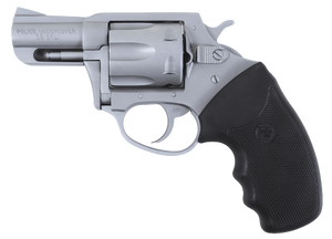 "Charter Arms 73840 Undercover Police 38 Special 2.20"" 6 Round Stainless Black Rubber Grip"