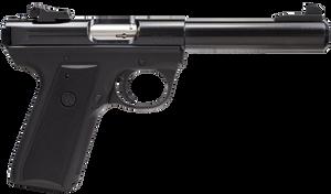 Ruger 10107 22/45 Target-SAO 22LR 5.5 BB 10+1 Black Polymer Grip/Frame Blued