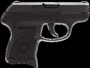 Ruger- 3701 LCP  380 ACP DA 2.75 6+1 Black Polymer Grip Blued Slide