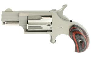 North American Arms Mini Revolver .22LR 1.125 Red/Black Grip NAA22LRR