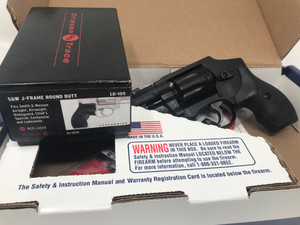 USED Smith & Wesson 22lr 43C Revolver  8 RND Comes with crimson trace laser grip