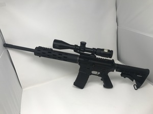 USED Colt competition series AR-15 5.56 comes with p-223 Nikon Scope