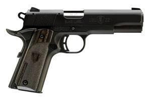 1911-22 A1 BLK LBL 22LR 4.2510+1 / BLACK LAMINATED GRIPSBeavertail Grip SafetyCommander HammerTarget Crown
