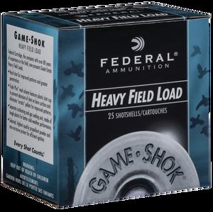 Federal H20275- Game-Shok Upland 20 Gauge 2.75 1 oz 7.5 Shot 25 Bx/ 10 Cs 3798
