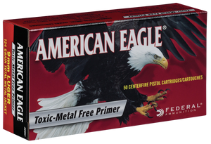 Federal AE357A American Eagle 357 Mag 158 gr Jacketed Soft Point (JSP) 50 Bx/ 20 Cs