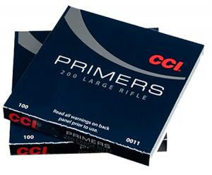 CCI 0012 Primer Large Pistol 10 Boxes of 100 Primer 0012